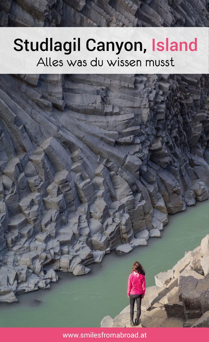 Studlagil Canyon Island Reisetipps