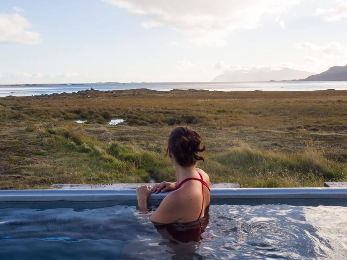 Hot Pots Heisse Quellen Island