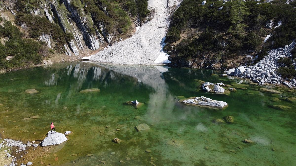 Wandern Feichtauseen Blumaueralm Oberoesterreich