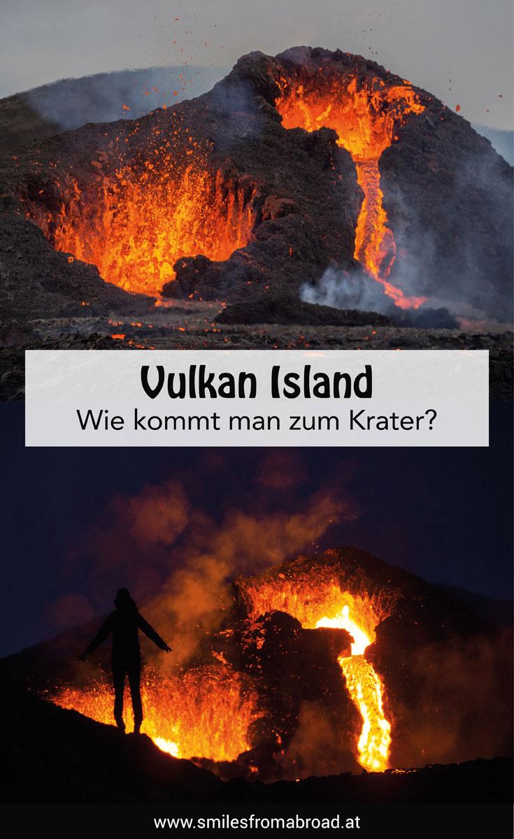 """Vulkan Island Vulkanausbruch Wanderung"""""""
