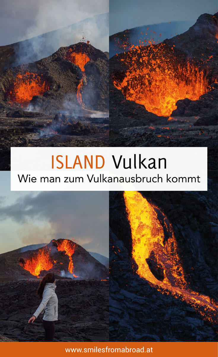 Vulkanausbruch Island Wandern