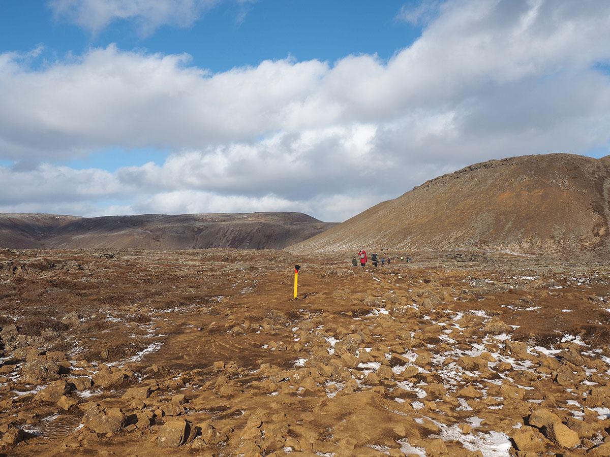 "Wandern Vulkan Island Wanderweg """