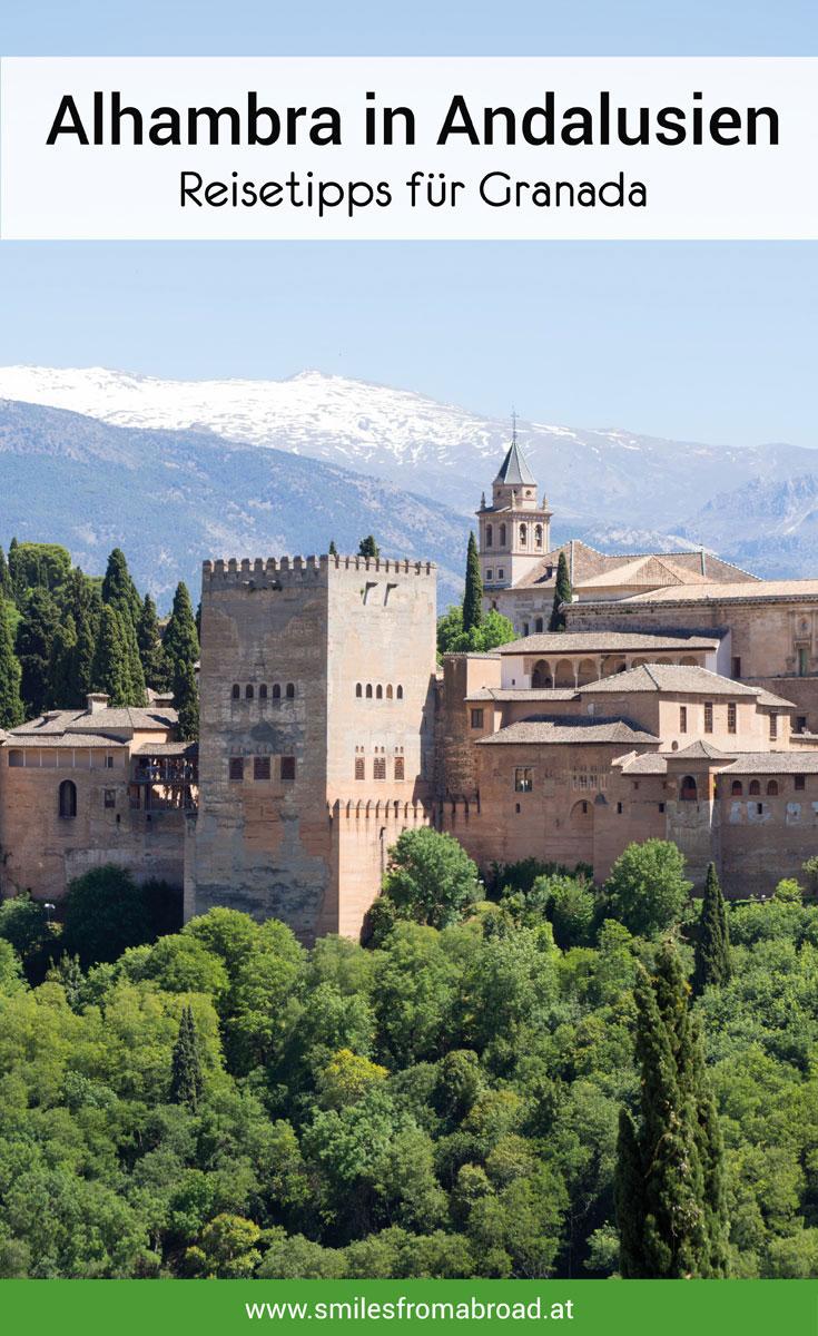 Granada Alhamba Sehenswertes
