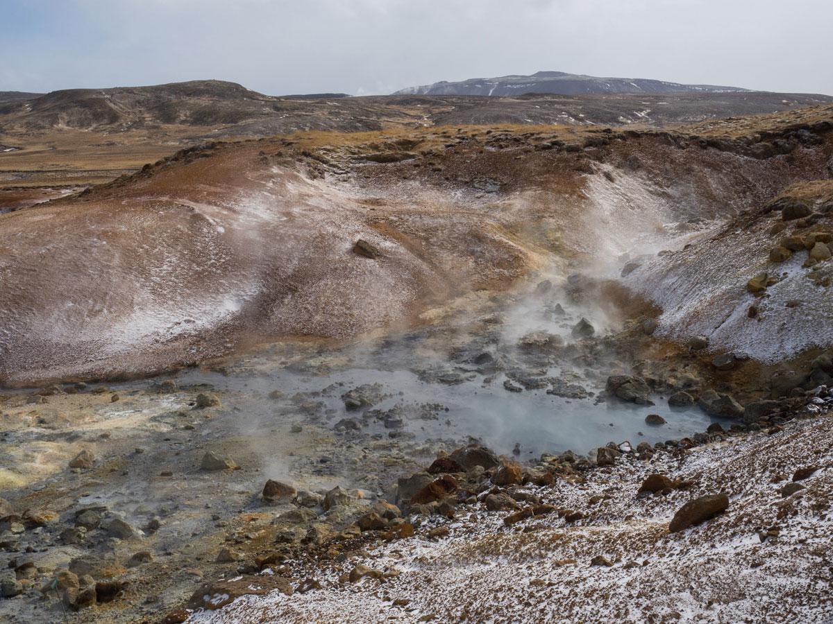 Sehenswertes Island Krysuvik Heisse Quellen
