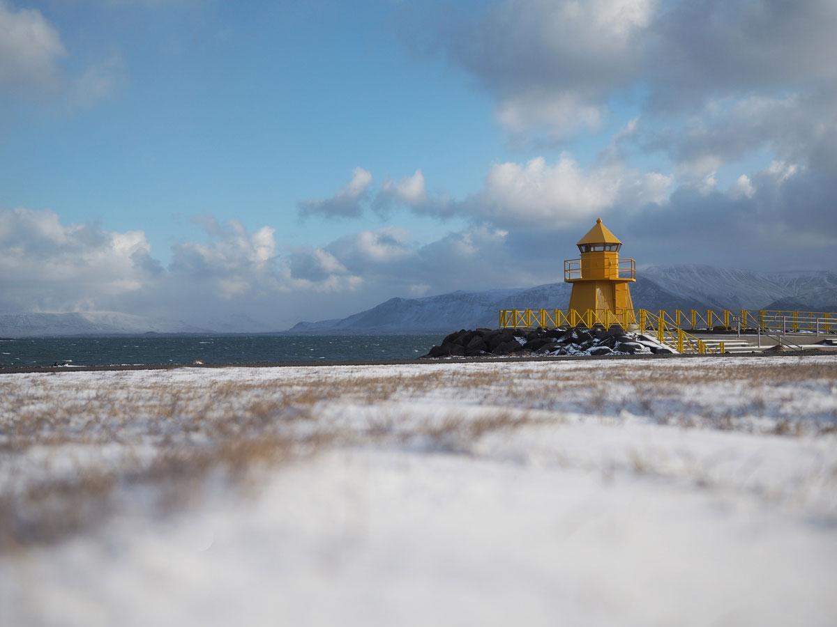 Sehenswuerdigkeiten Reykjavik Island Leuchtturm