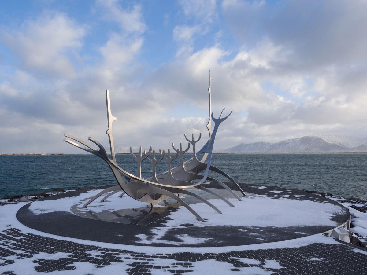 Sehenswuerdigkeiten Reykjavik Island Sun Voyager