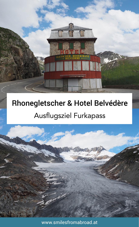 Rhonegletscher Furkapass Belvedere