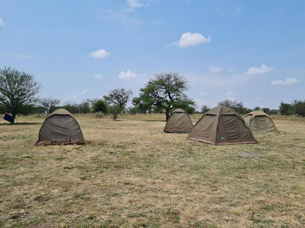 Camping Tansania